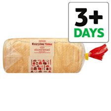 Tesco Everyday Value Sliced White Bread 800G from Tesco