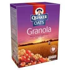 Quaker Oat Granola Cereal 600G from Tesco