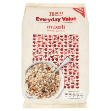 Tesco Everyday Value Muesli 1Kg from Tesco
