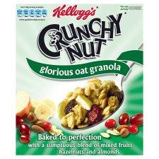 Kelloggs Crunchy Nut Oat Granola Fruit & Nut 380G from Tesco